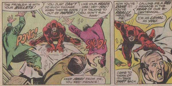 Daredevil's Opinion on Communists.