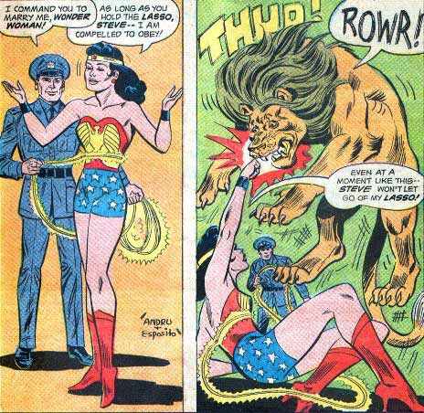 So What Happens When He Gets Around to Letting Go of the Lasso?