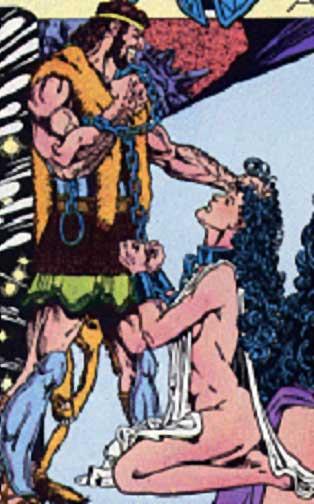 What's Better Than Wonder Woman in Chains?  Naked Wonder Woman in Chains.