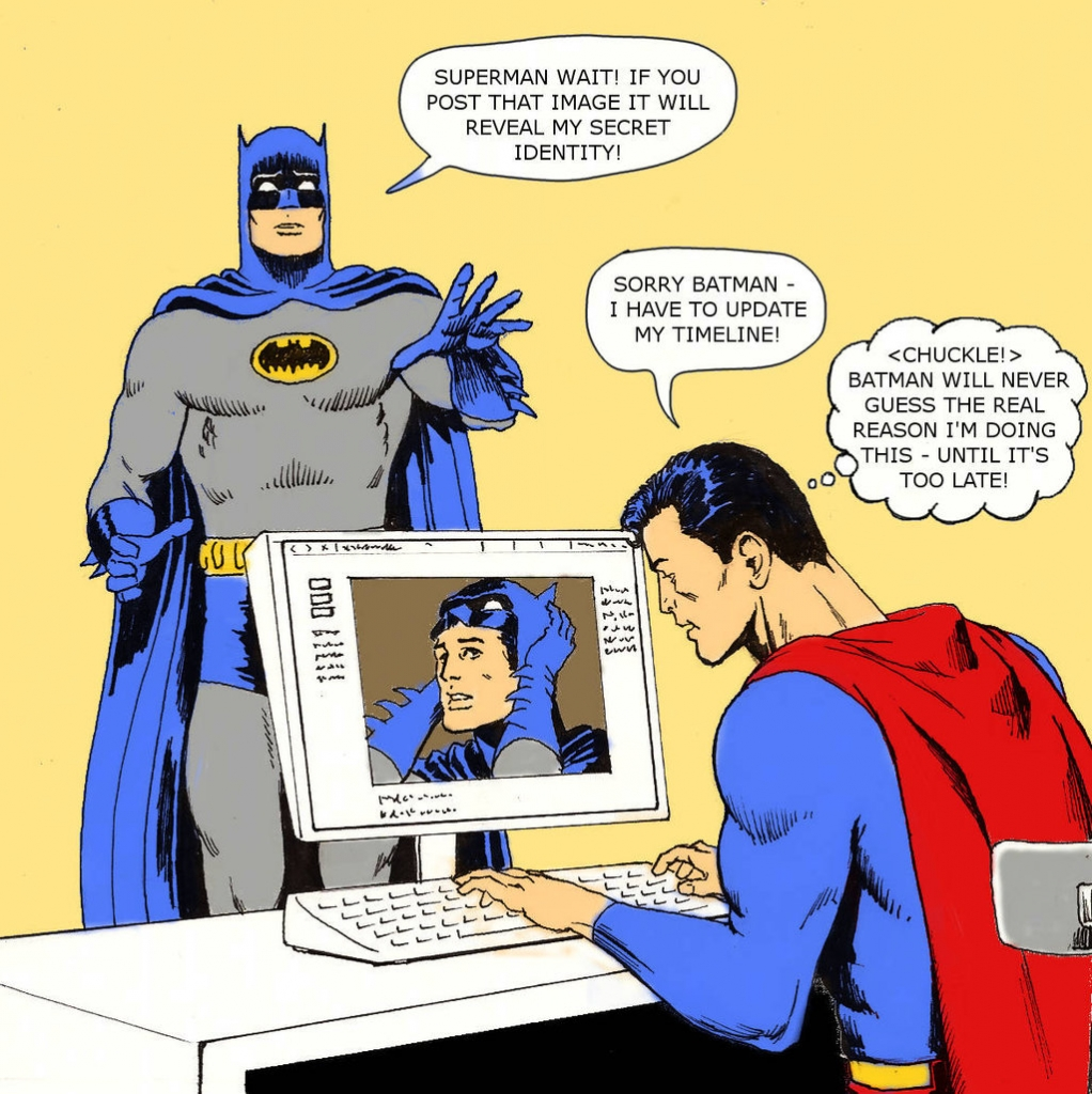 When the Silver Age and Internet Age Collide.