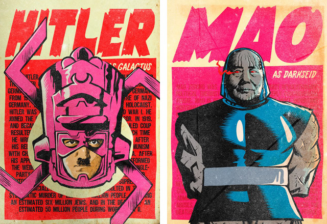 Now I Kinda Want to See Galactus as a Space Nazi...