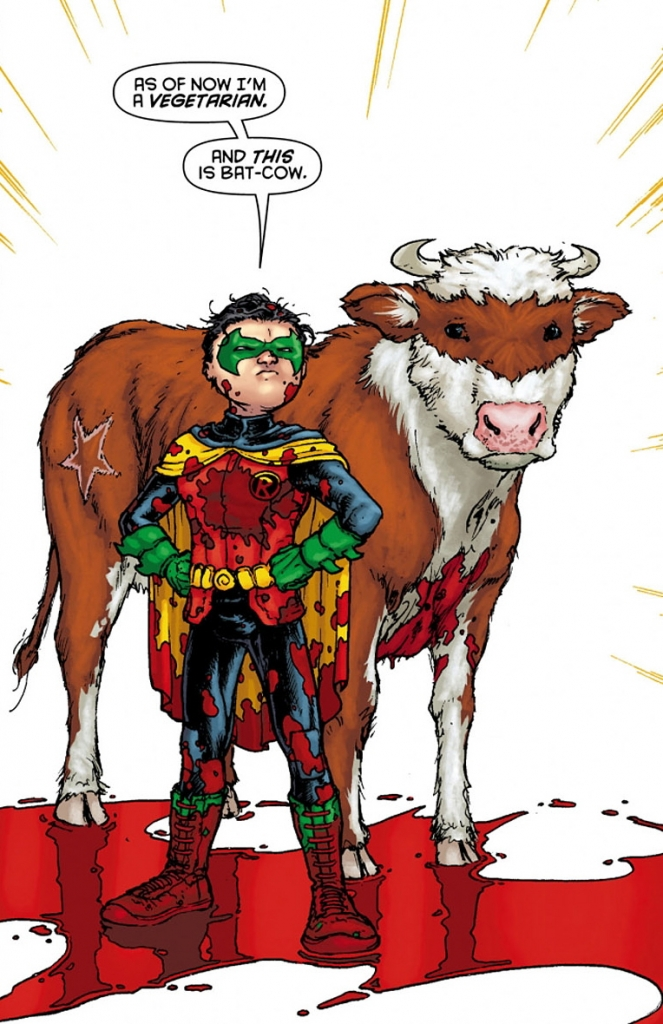 """""""And this is Bat-Cow."""""""