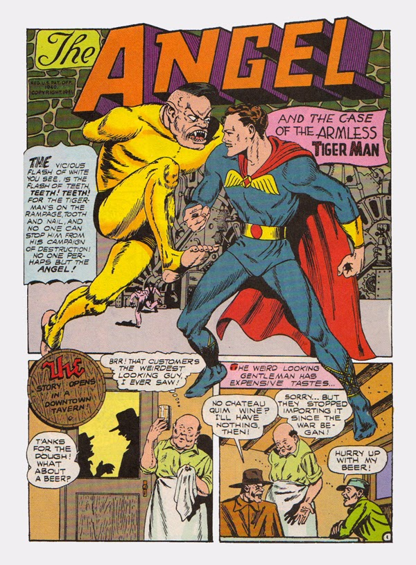 """""""The Case of the Armless Tiger Man!"""""""